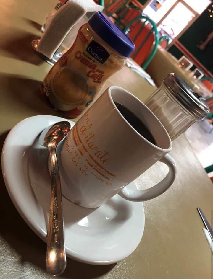 un cafe del restarunte