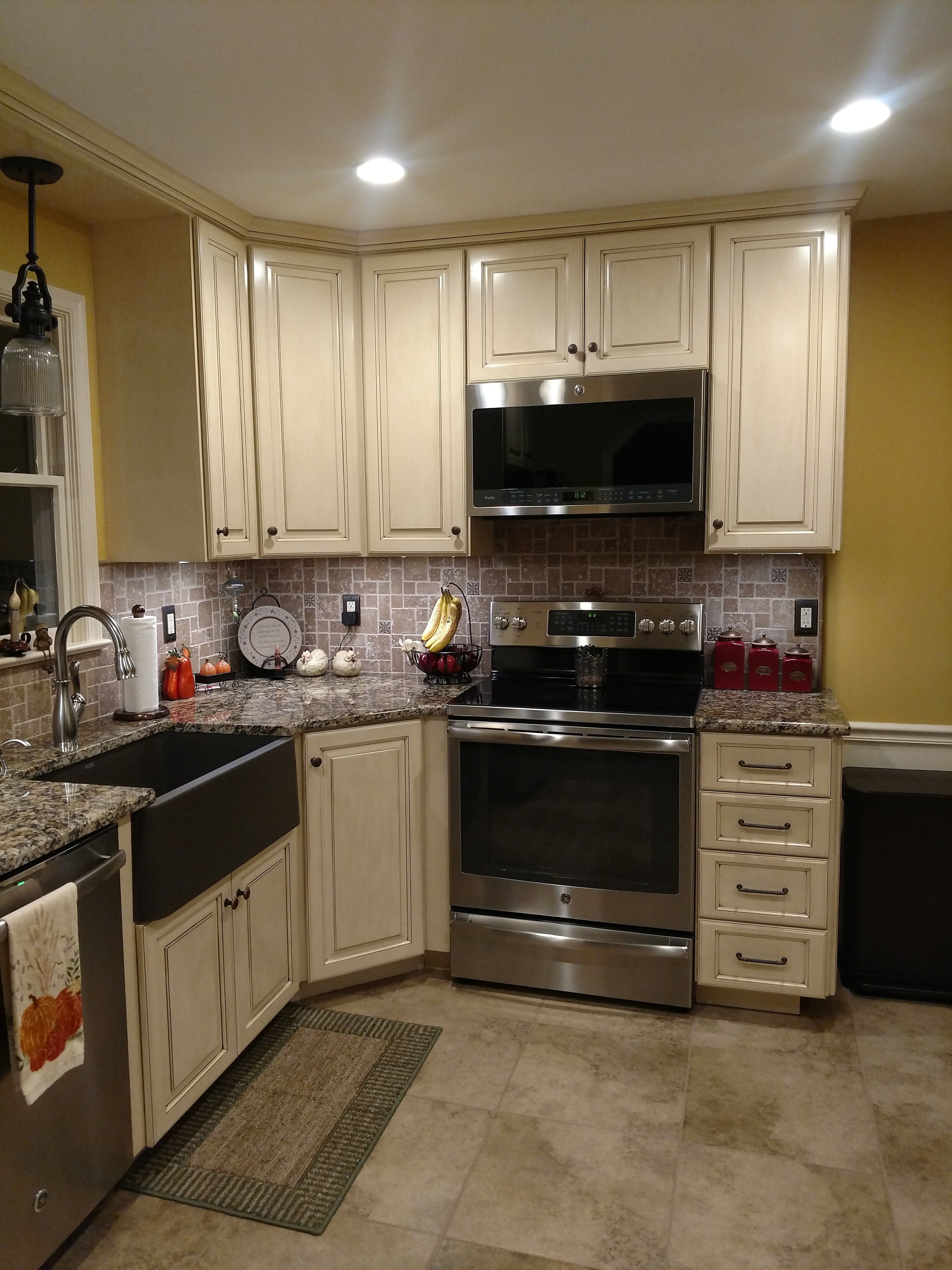 kitchen remodel after F