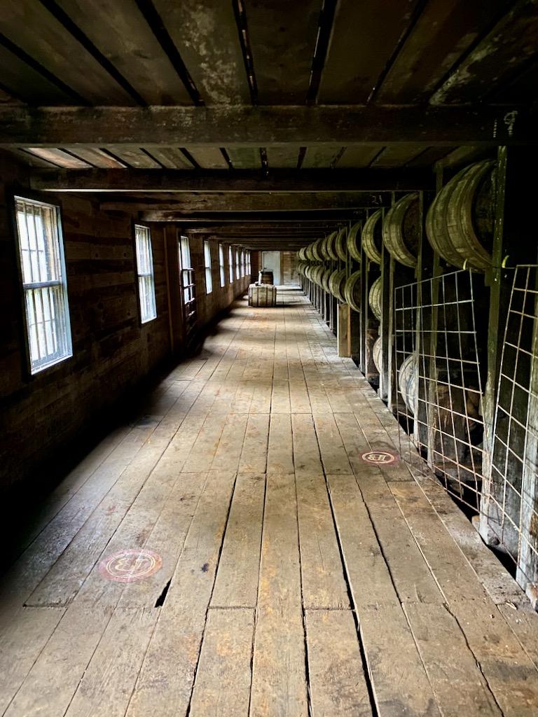Warehouse H inside  - Barton 1792 Distillery