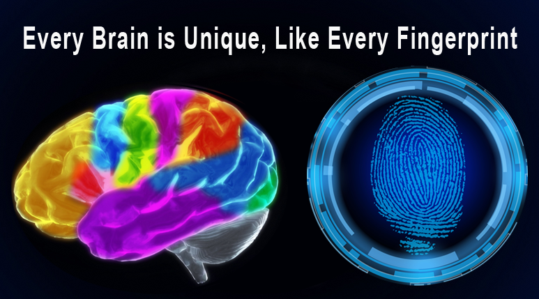 Every Brain is Unique, Like Every Fingerprint