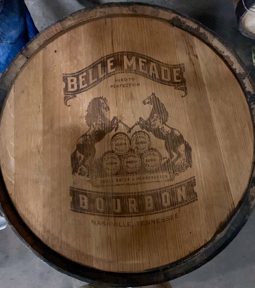 Nelson's Green Brier Distillery Barrel Head