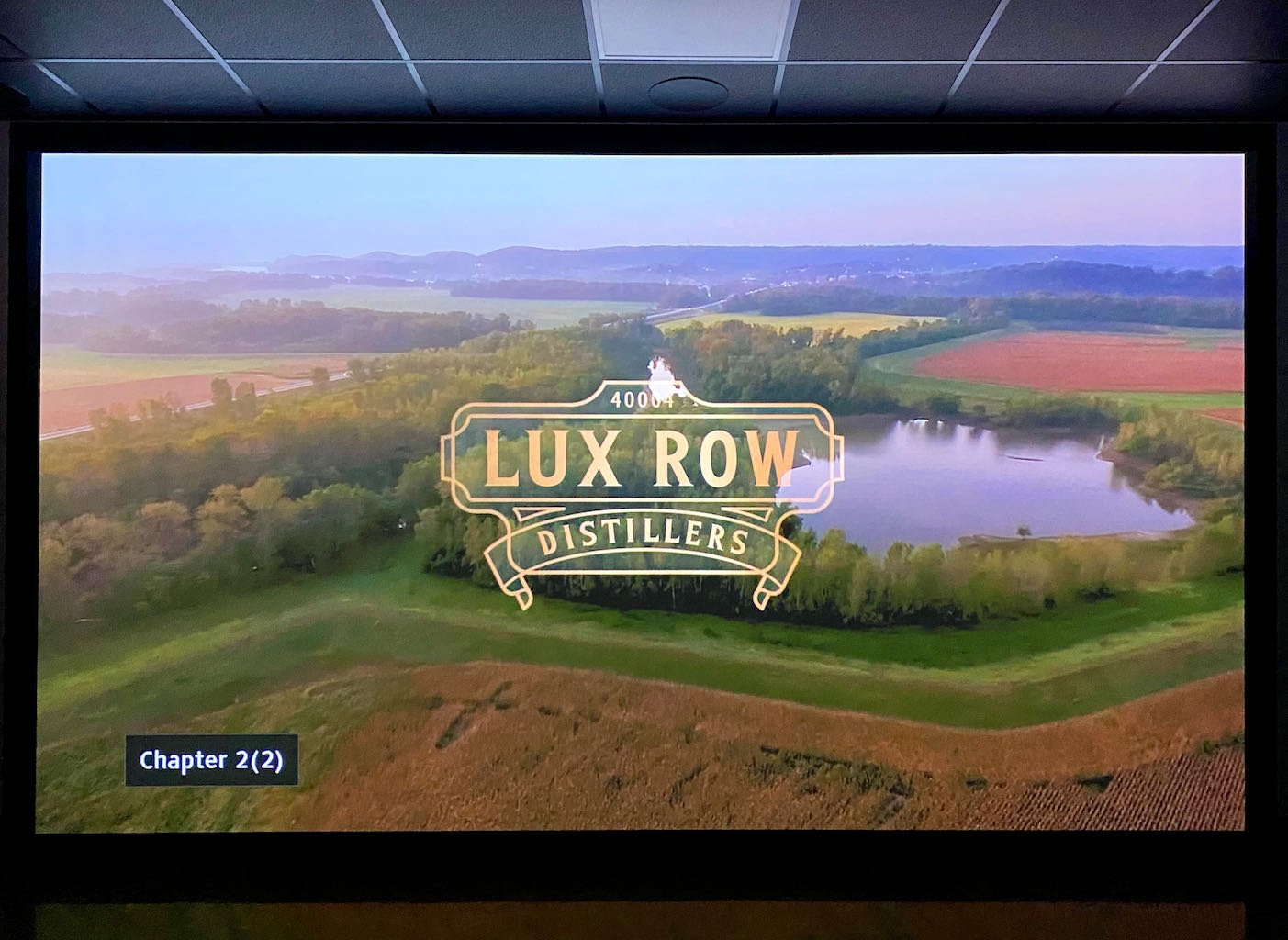 Short Video  - Lux Row Distillers
