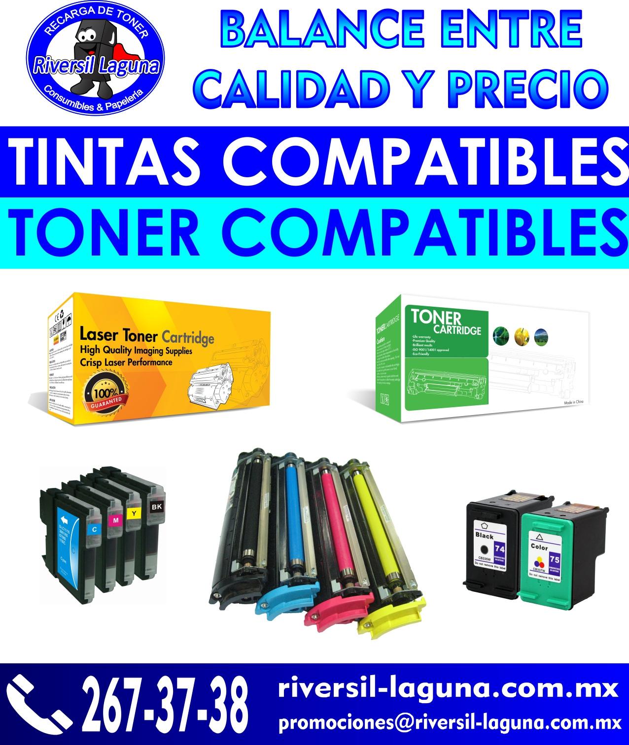 ahorra dinero con las tintas y toner compatibles