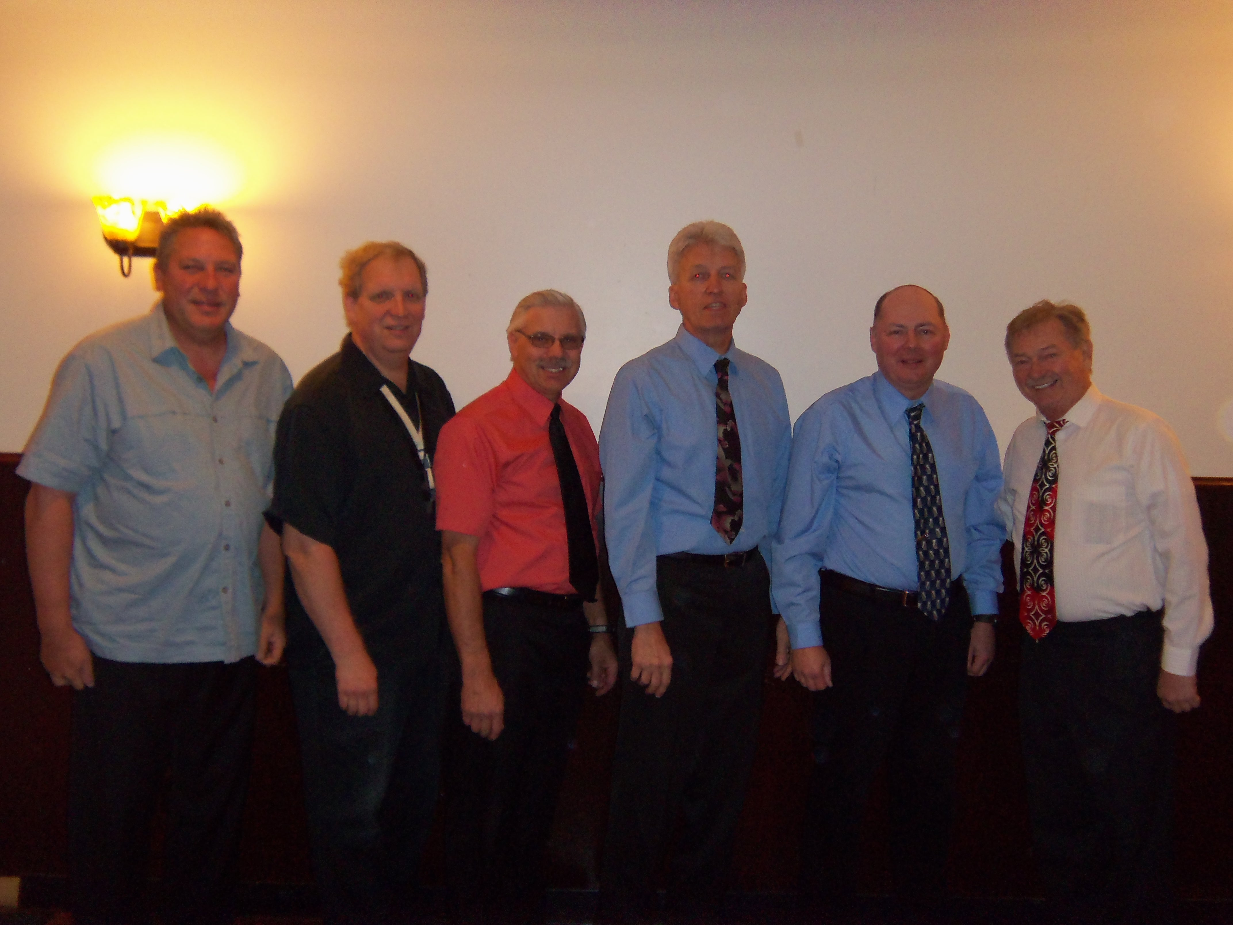 Mike Samborski, Mark Dombrowski, Don Wayerski, Ken Cekosh, Rich Raclawski, Pete Kweck