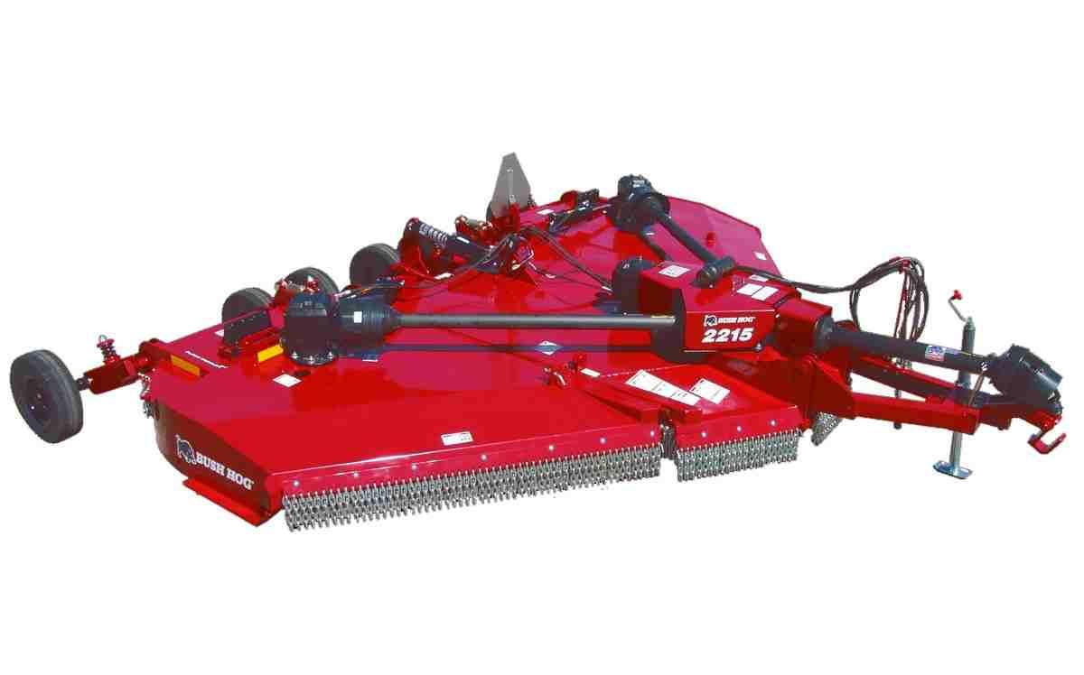"Bush Hog 15ft Flex Wing mower, 3-1/2"" Cut Capacity.   Yea, WE STOCK IT."