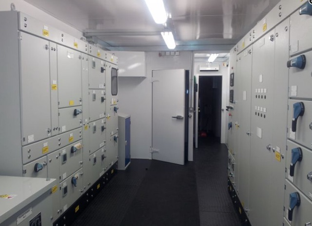 bespoke switch-room housing