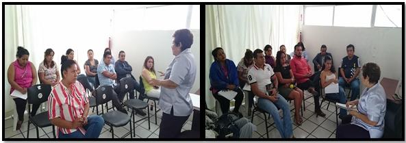 """El día 06 de octubre impartimos capacitación con el tema """"Sensibilización y Atención a Victimas""""  dirigido a los ministerios públicos de la unidad especializada en delitos sexuales y  Violencia Familiar."""
