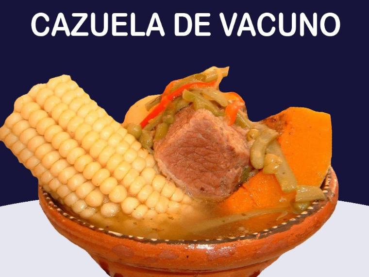 Cazuela de vacuno