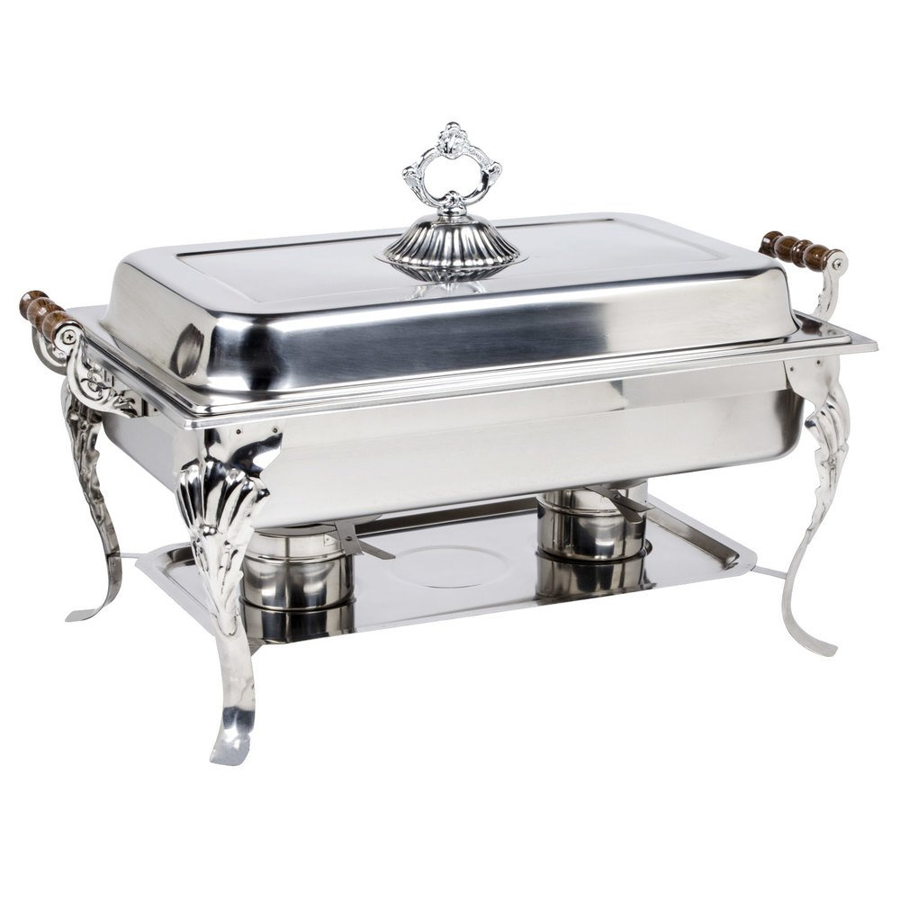 Chafing Dish Rectangular Deluxe $15/day or weekend