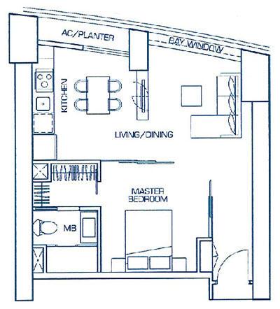 1 Bedroom Suite Type B