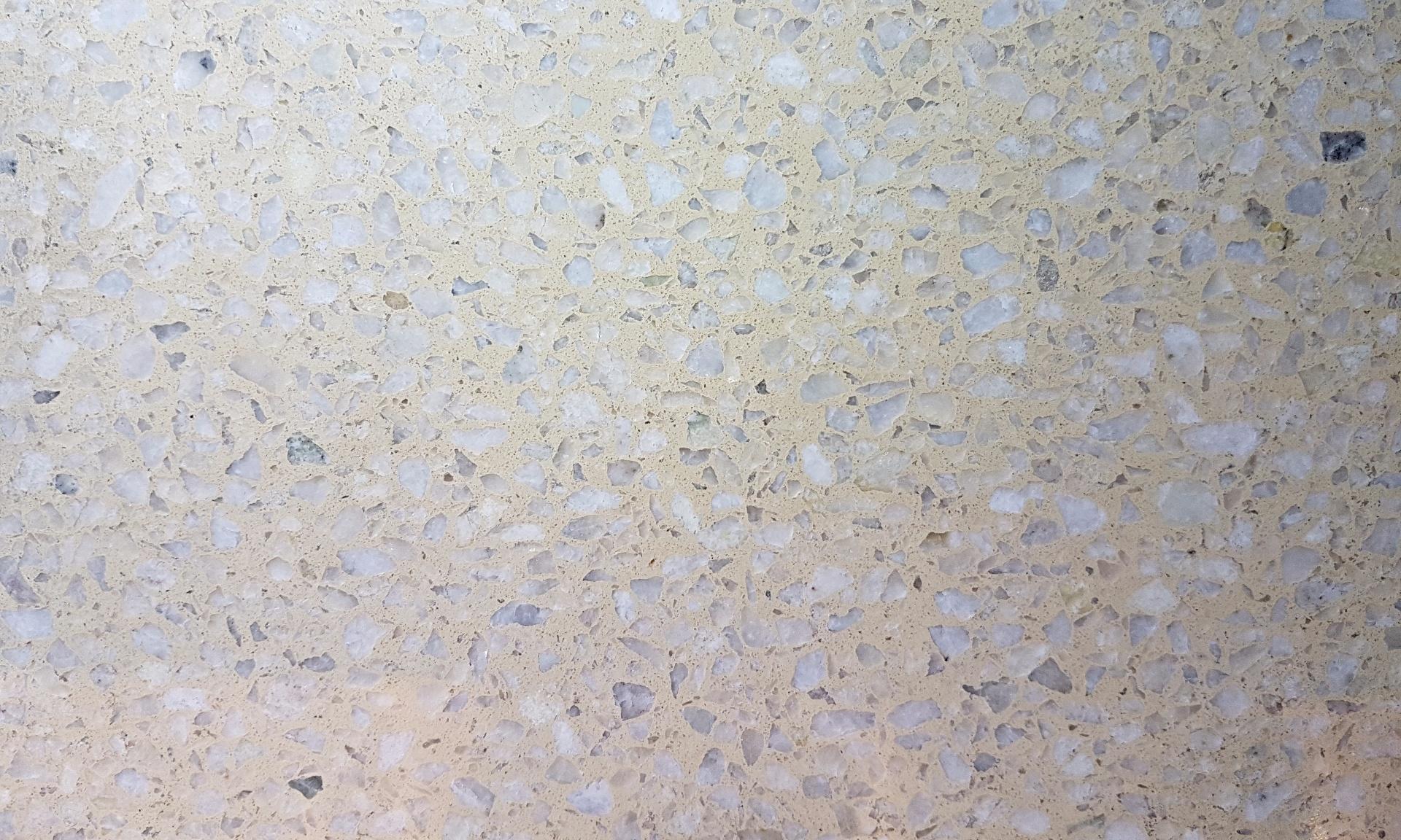 Mosaico granítico champo con blanco 1/1