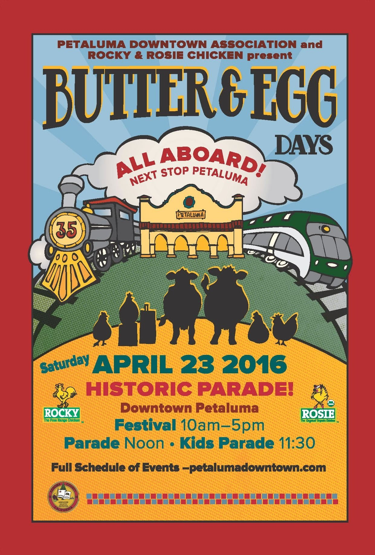 Butter & Egg Days Parade