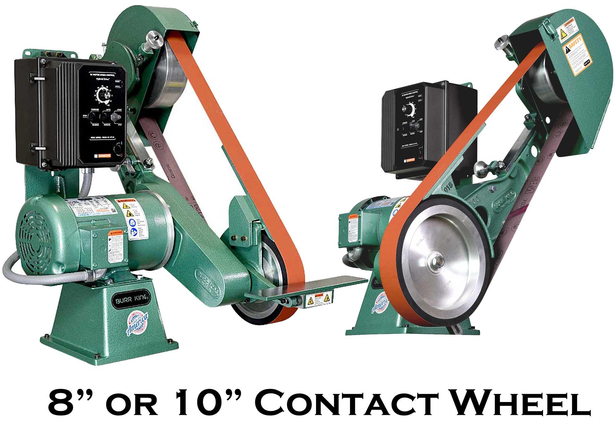 Model 960-272 2 x 72 Two Wheel Belt Grinder