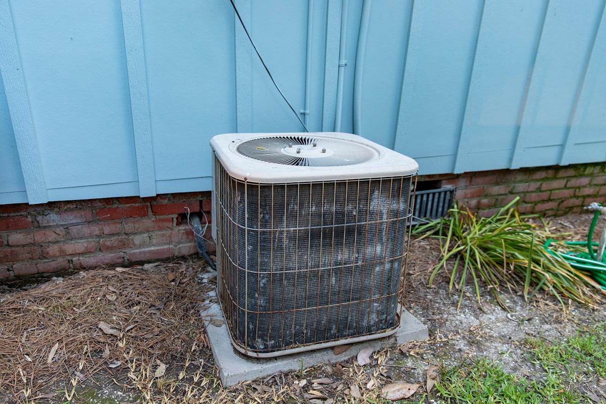 Old AC Needing Repair