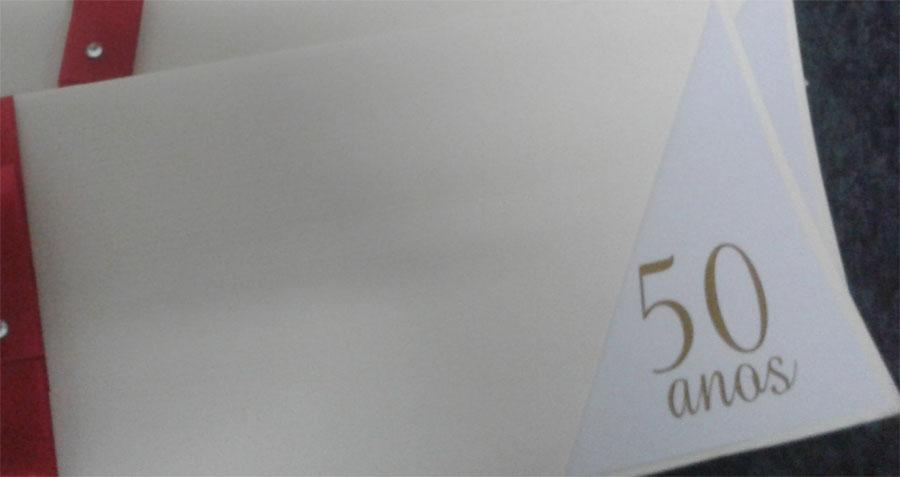 Convite 50 anos - todas as cores