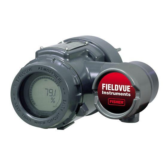 Controlador de nivel digital DLC3010 FIELDVUE™ de Fisher™