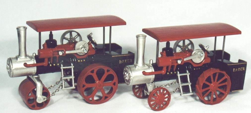 Red Baker Roller and Engine