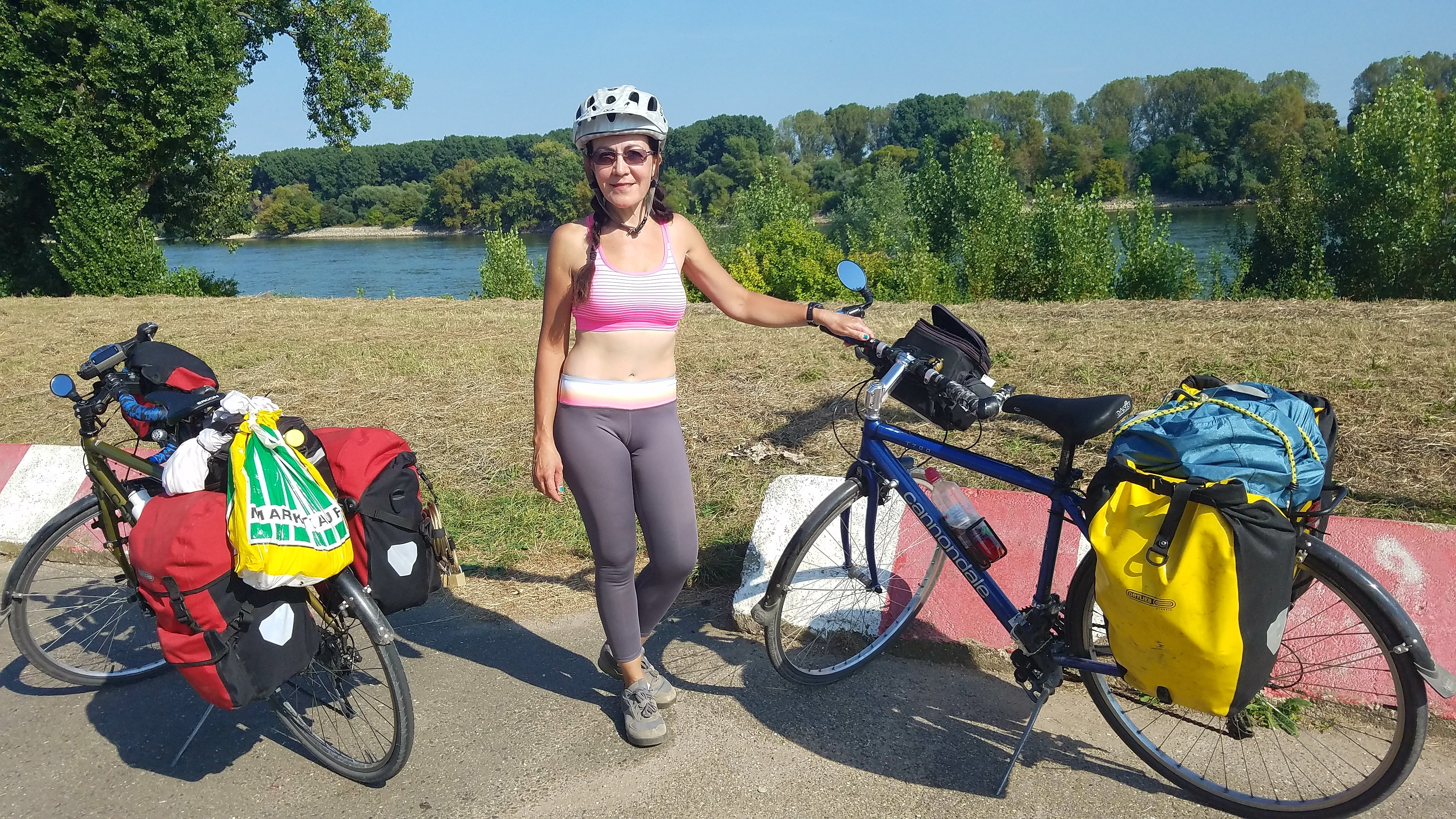Bicycling the length of the Rhine River.