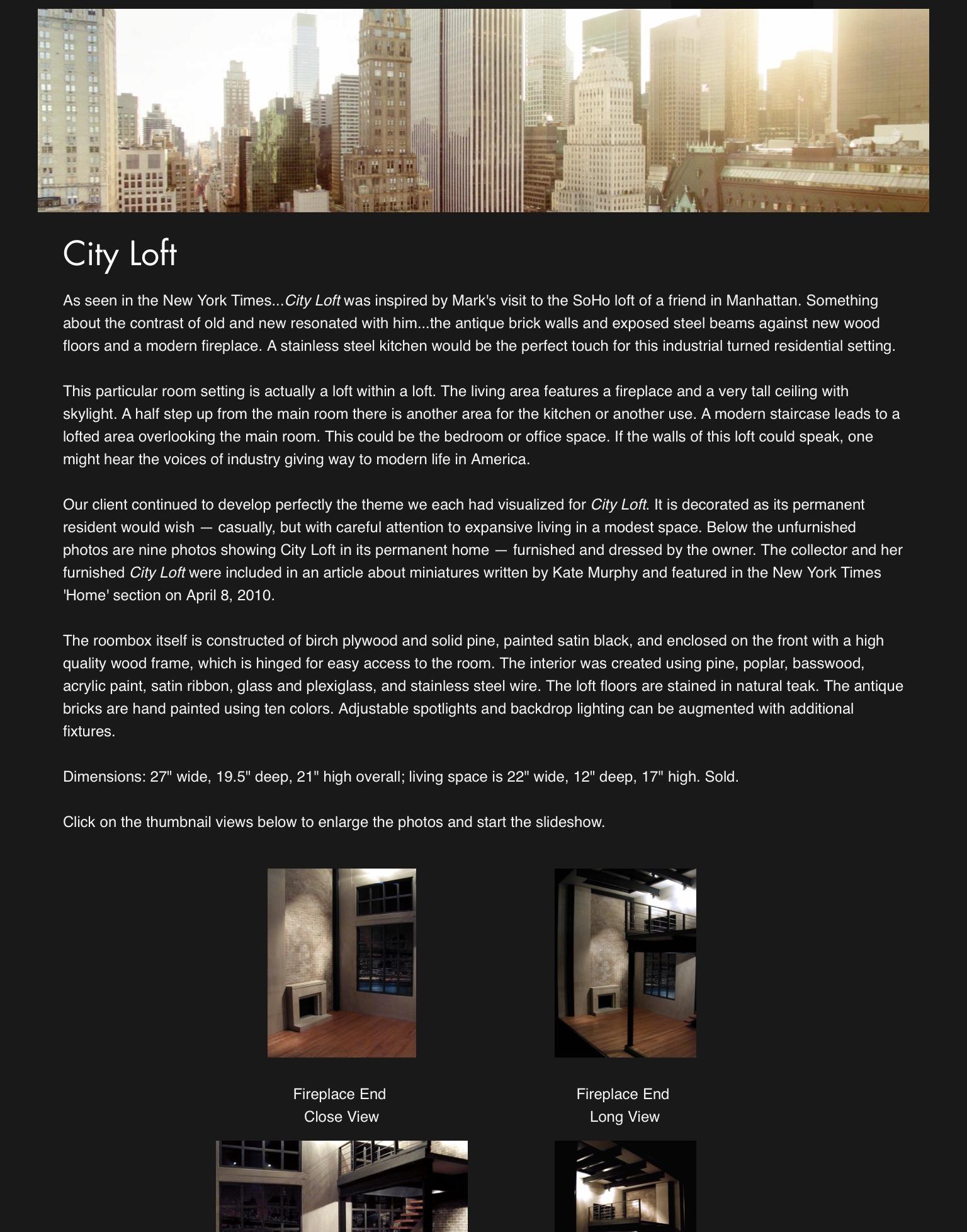 City Loft — 2003