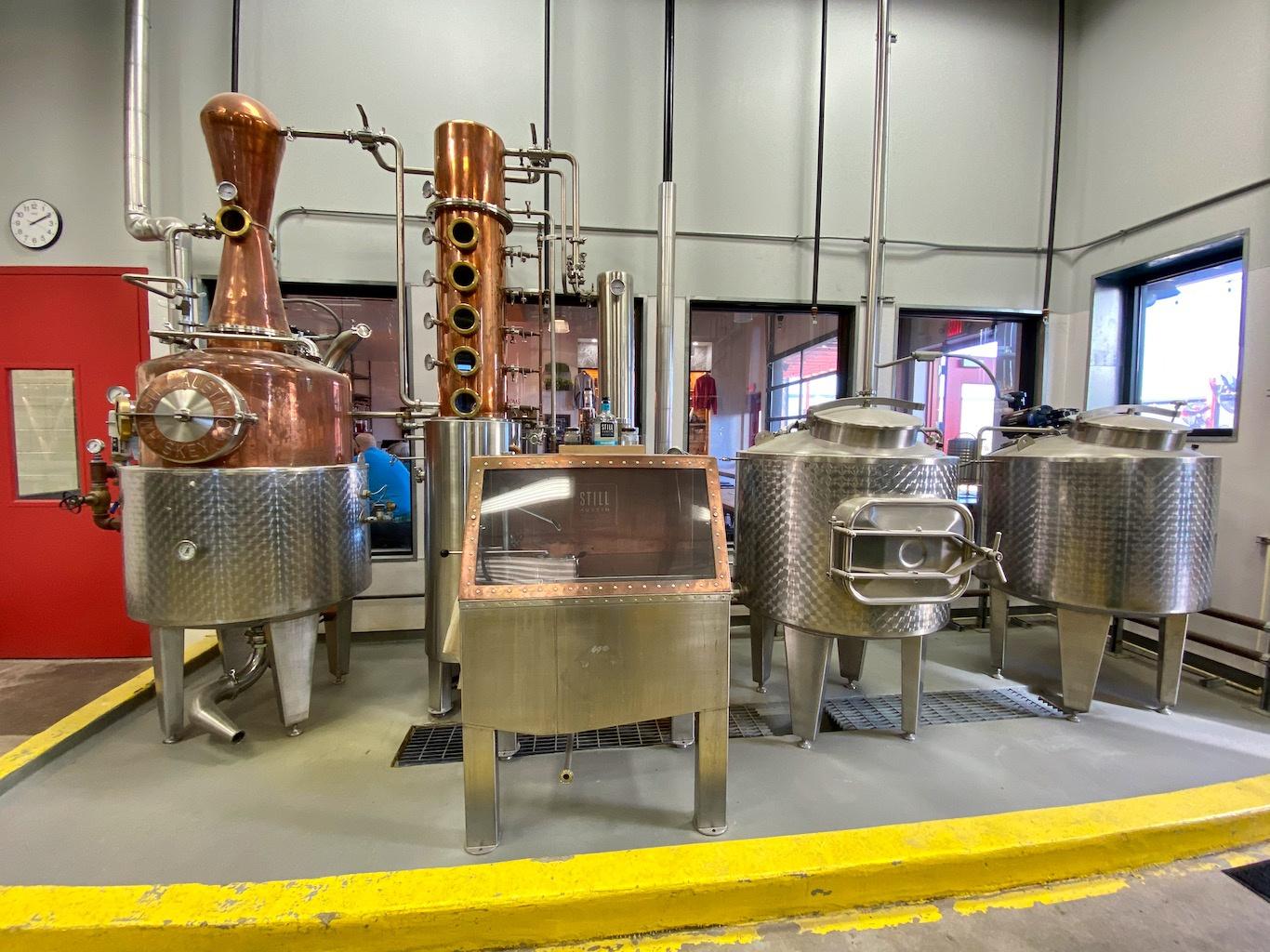 Small Hybrid Still -Still Austin Whiskey Co
