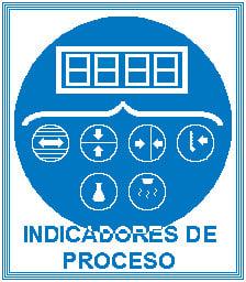Icono indicadores de proceso