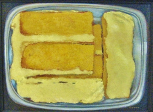 Kushnir, Cake, 12x16, Oil