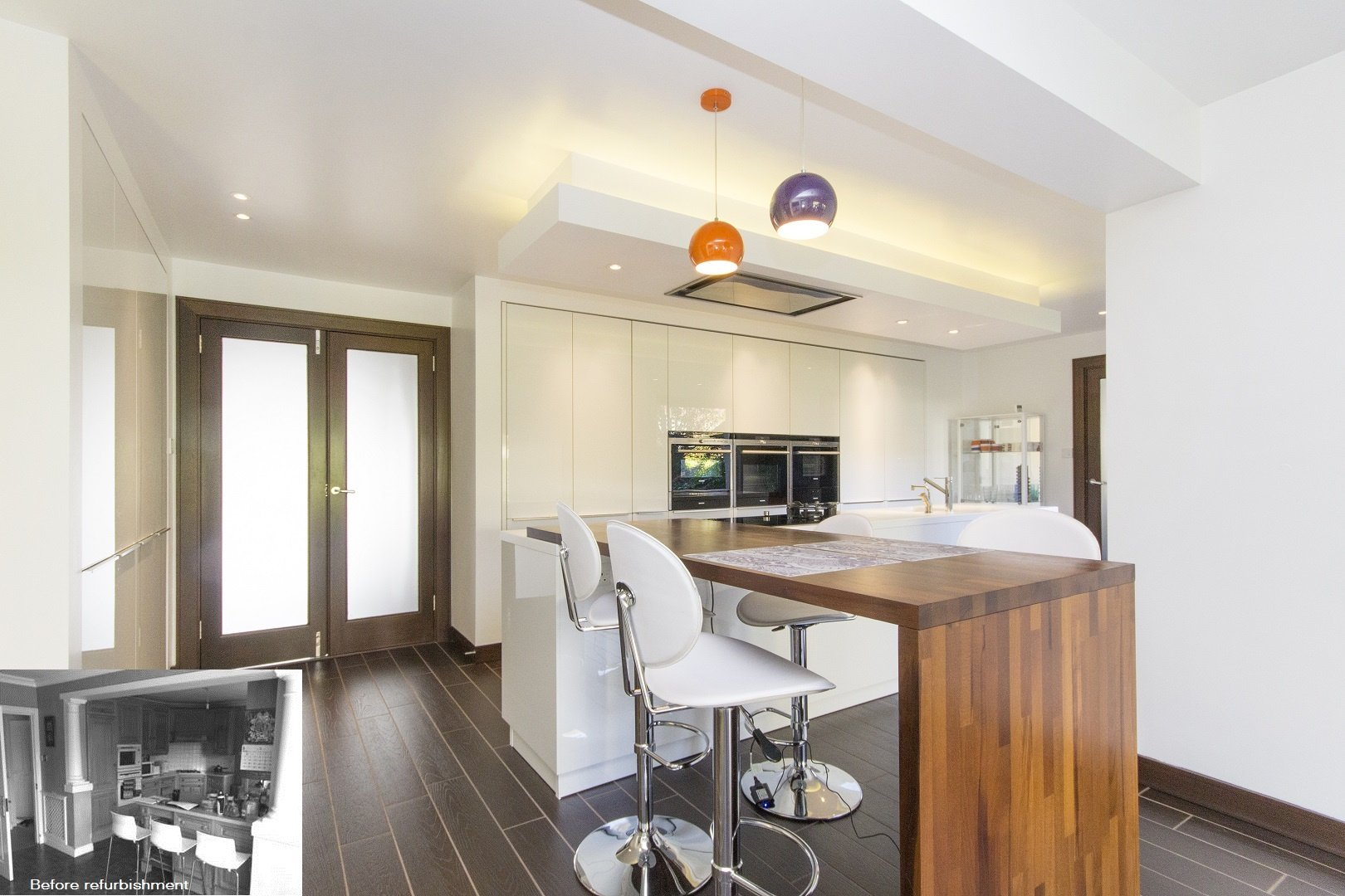 Kitchen within extension