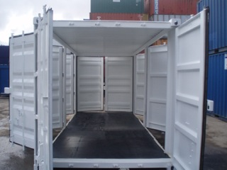 multi door shipping container