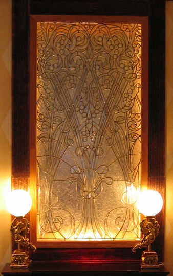 Leaded glass window  by Barbara Sabia