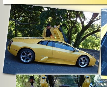 Client With Yellow Sports Vehicle
