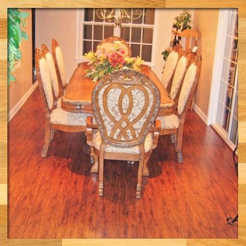 Pretty Colonial Oak Hardwood Floor