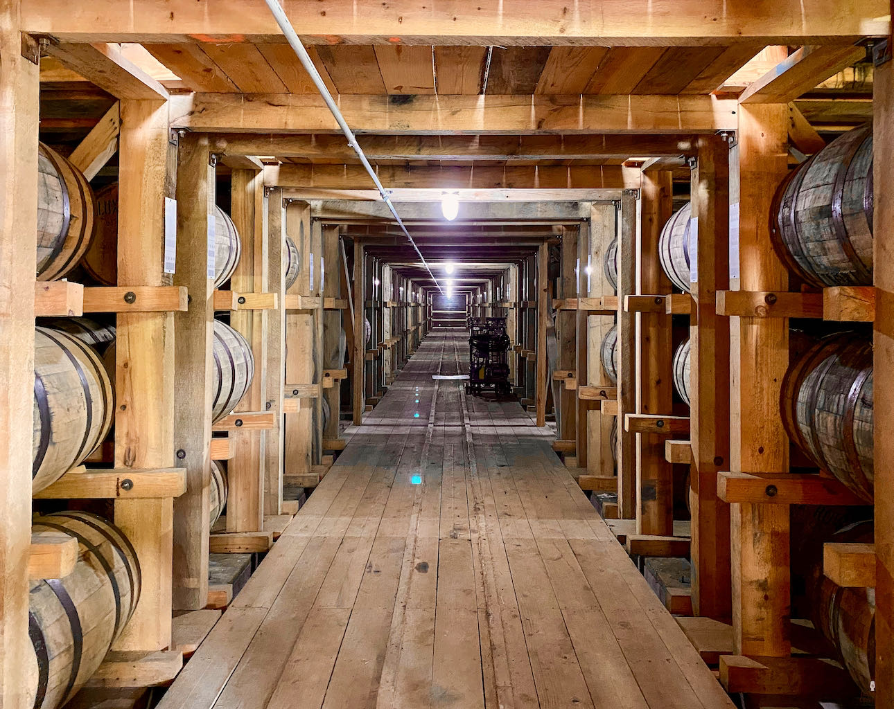 Ricks in Warehouse - Lux Row Distillers
