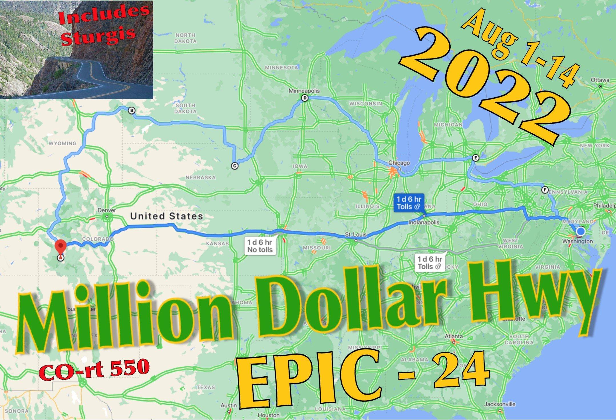 Million Dollar Hwy Epic