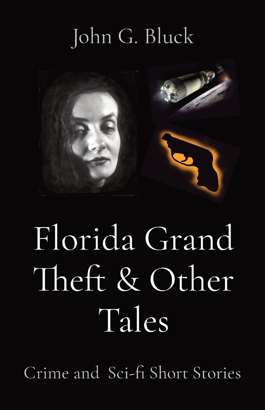 """cover of paperback book, """"Florida Grand Theft & Other Tales"""""""