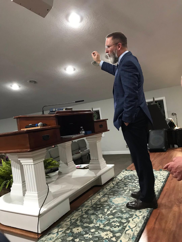 Pastor Stephen Cox