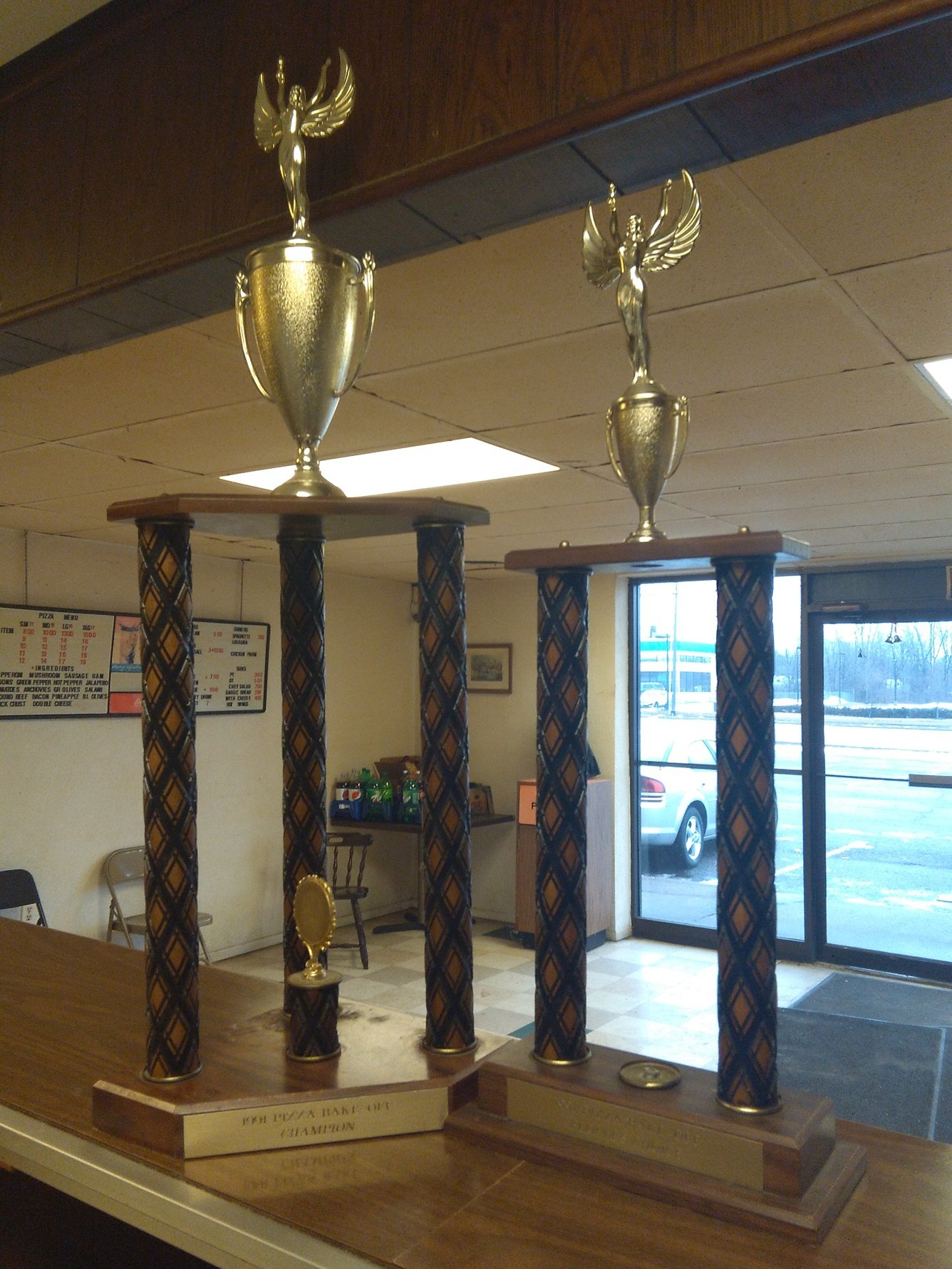 Antolino's Pizza Trophies
