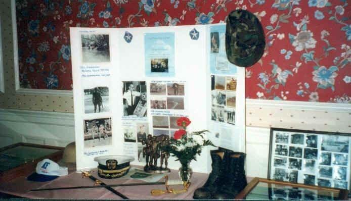 Veterans' Memorabilia