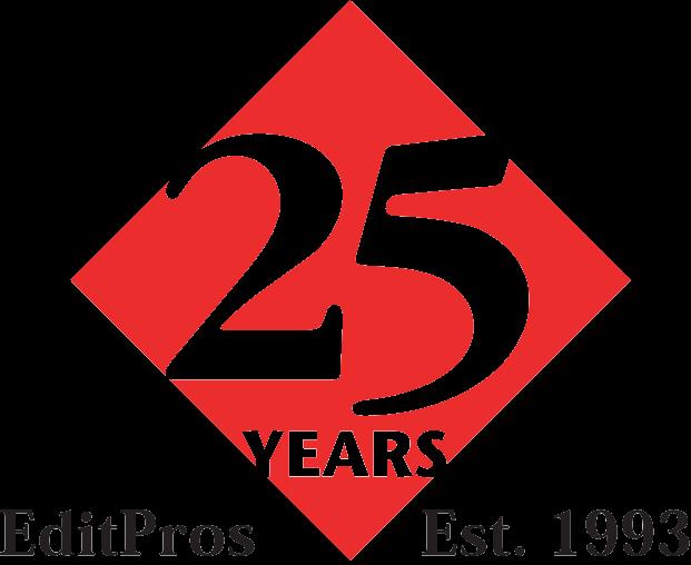 EditPros 24-year emblem