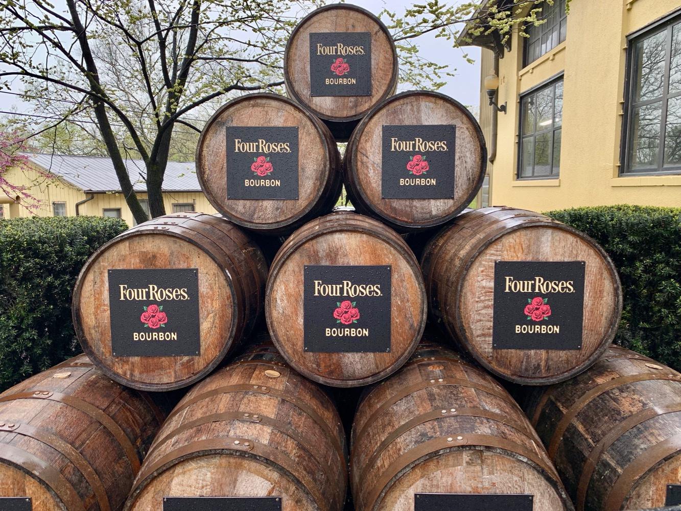 Four Roses Distillery Bourbon Barrels