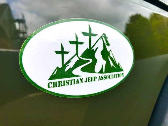 Christian Jeep Association Decal