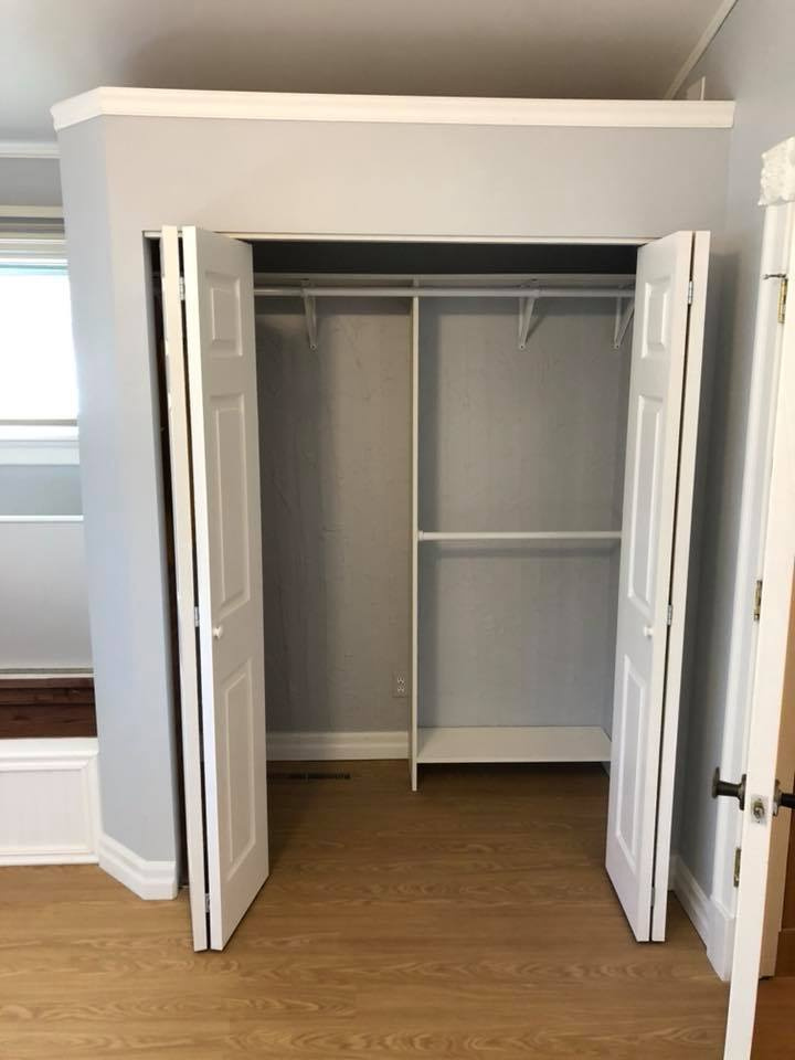 Finished Closet