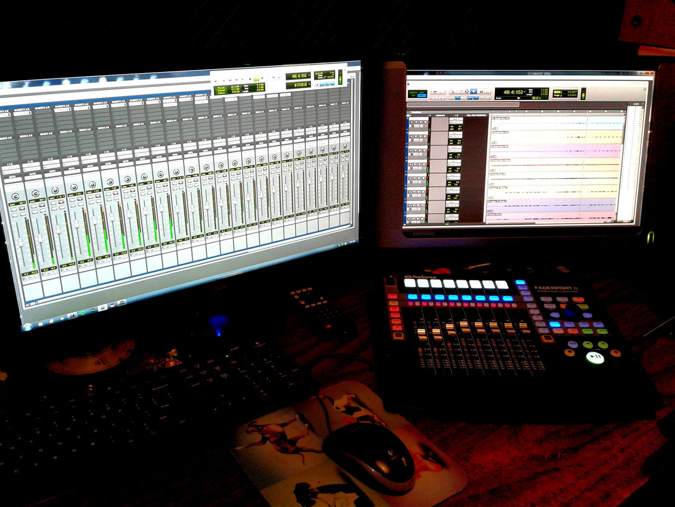 Interior of the Recording Studio 4