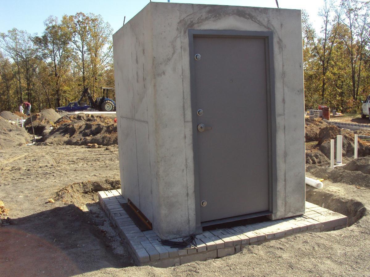 Concrete Storm Shelter