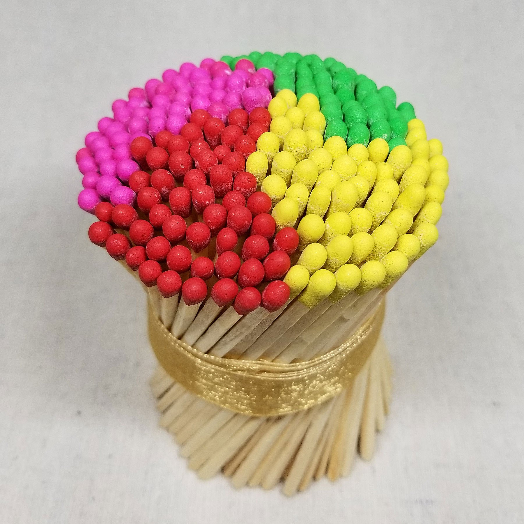 "bouquet of 4"" matchsticks"