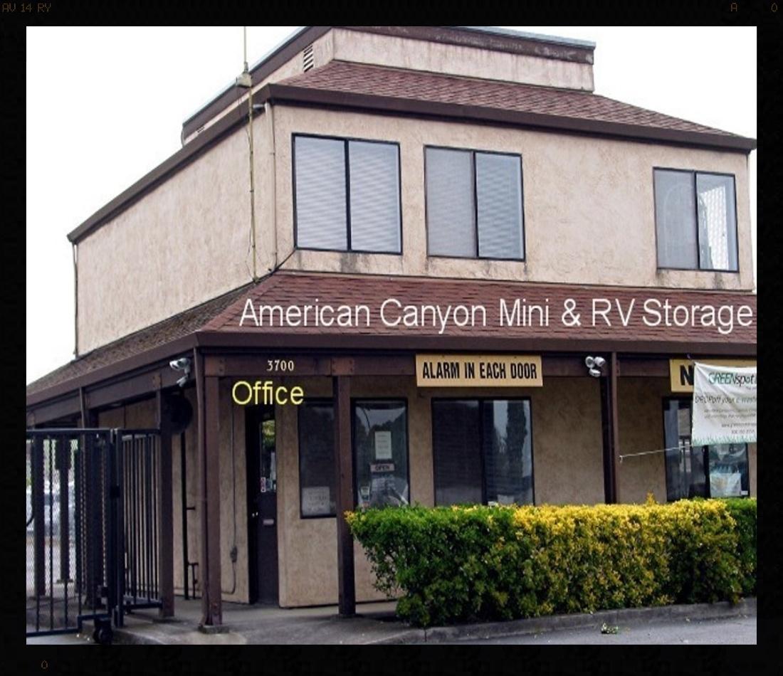 American Canyon Mini & RV Rental Office