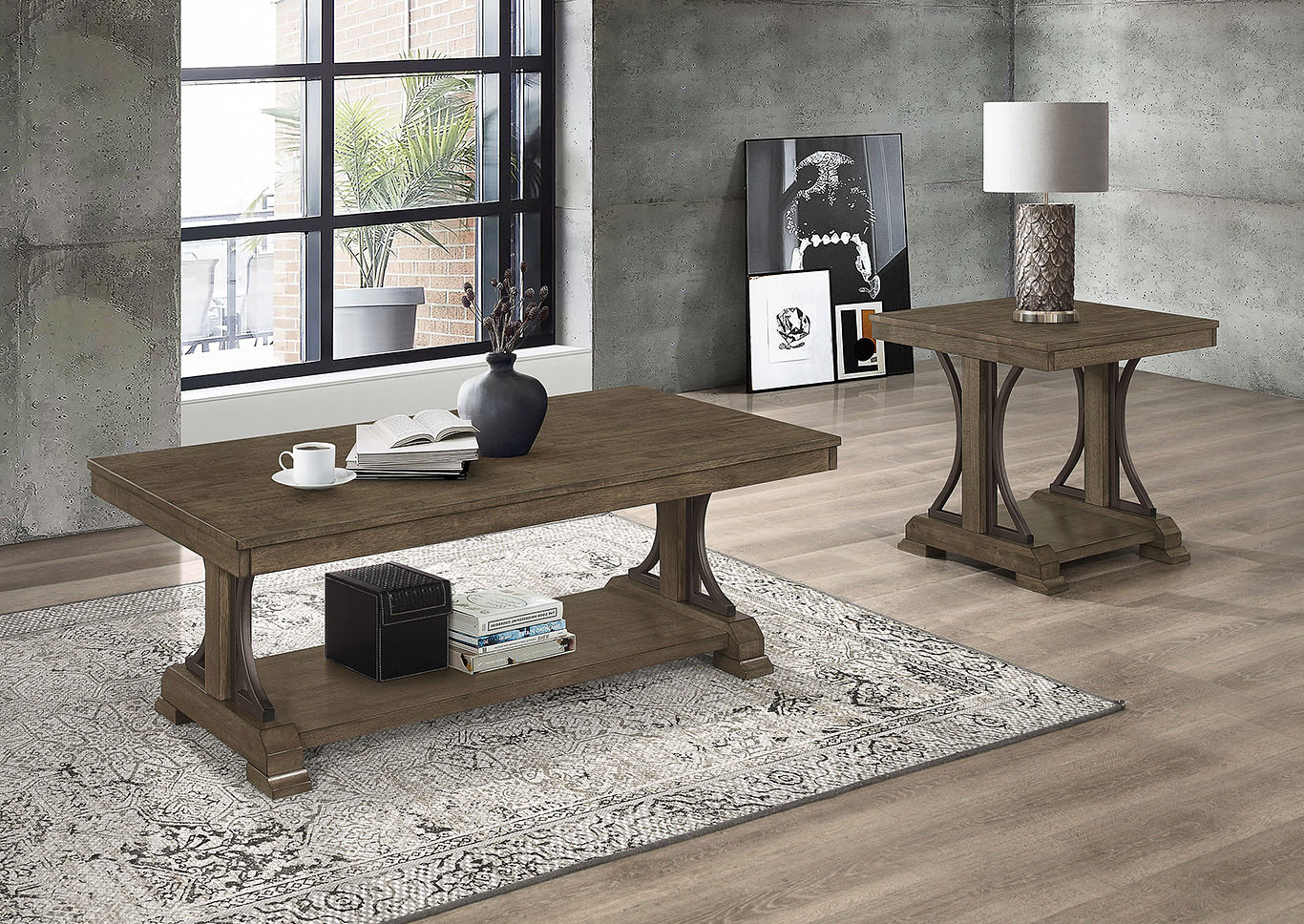 Quincy Coffee Table Set 4831