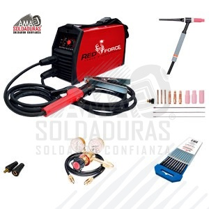 INVERSOR MEGAFORCE 160I. PAQ. READY PACK CON ACCES. TIG  RF58505