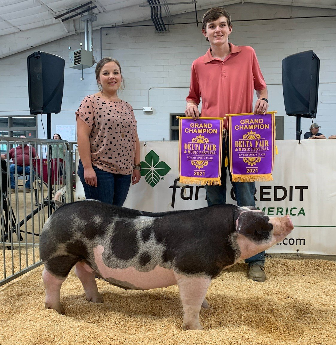 John Dylan Conrad Showing for Judd Crownover 2021 Delta Fair & Music Festival Champion Spot Gilt (Day 1 and Day 2)
