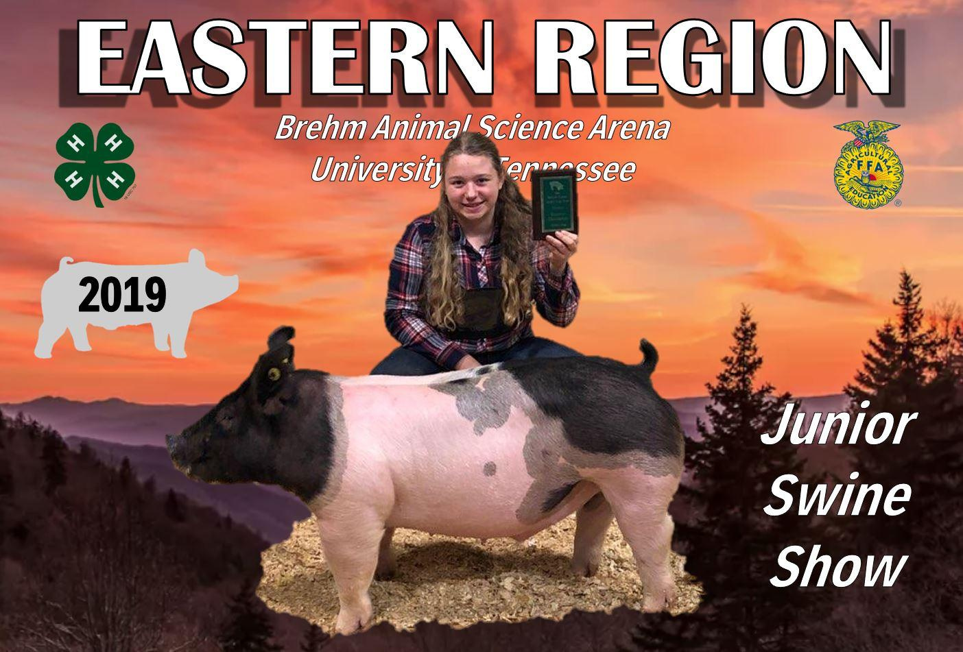 Abigail Henry 2019 Tennessee Eastern Region Show Reserve Weight Division Champion