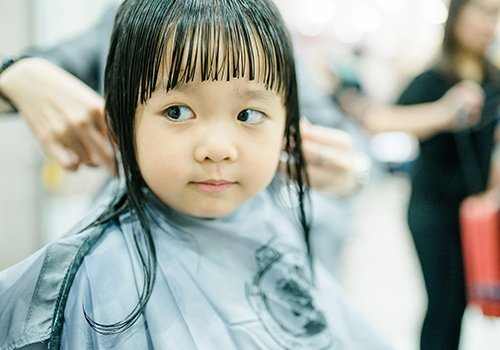 Asian Little Girl Haircut